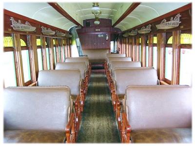 Coach 104 Interior