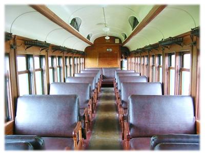 Coach 105 Interior